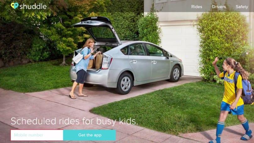 Shuddle shuts down its 'Uber for kids' transportation service
