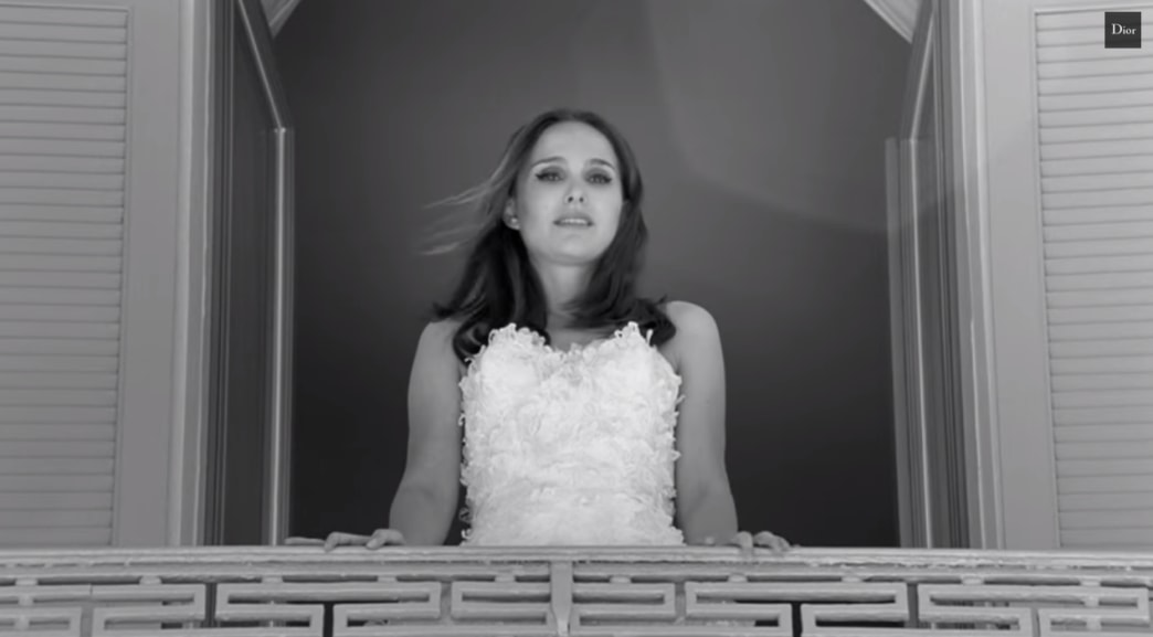 Natalie Portman is a gorgeous runaway bride in new Miss Dior ad