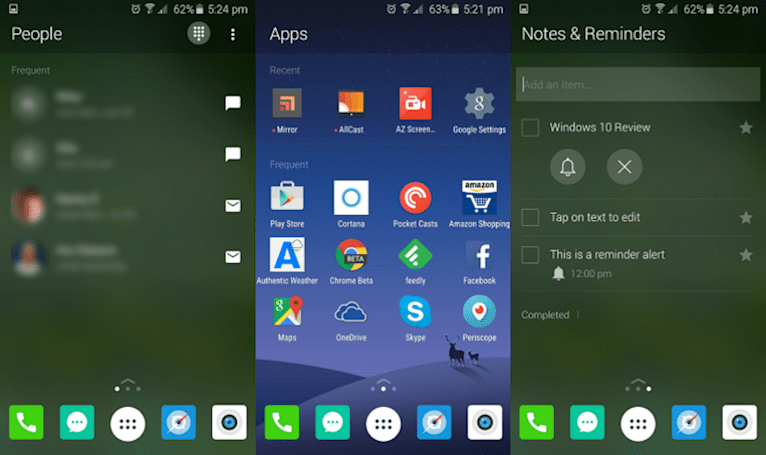 Microsoft's working on an Android launcher of its own