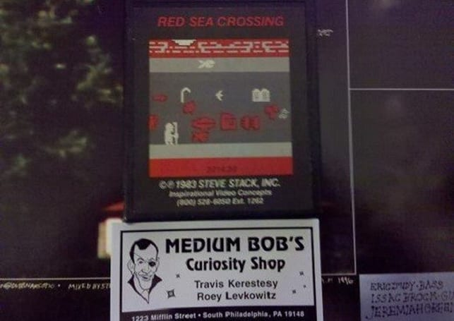 Rare Atari 2600 game, Red Sea Crossing, pops up in Philly shop