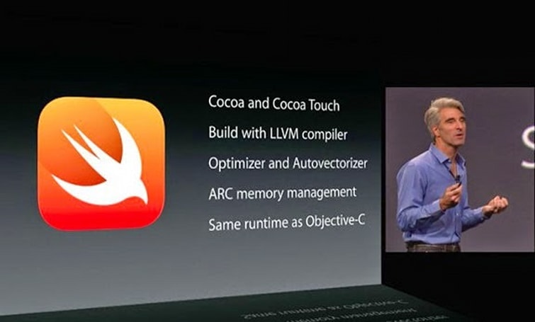 The strategies and challenges involved in developing new programming languages such as Swift