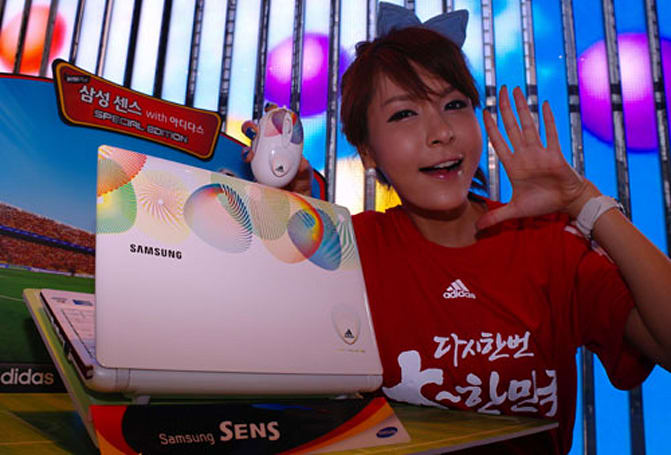 Samsung announces Adidas-branded N150 Plus netbook