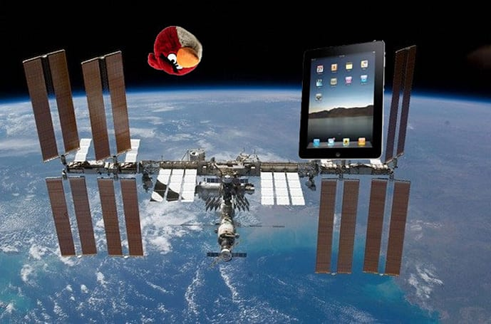 Angry Birds to ride Russian rockets into space, follow iPads bound for bored cosmonauts