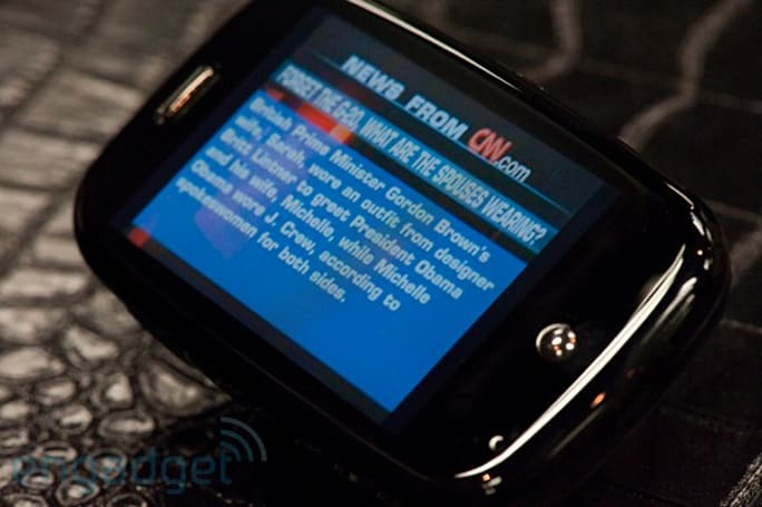 Pandora, Amazon, other third-party apps demoed on Palm Pre