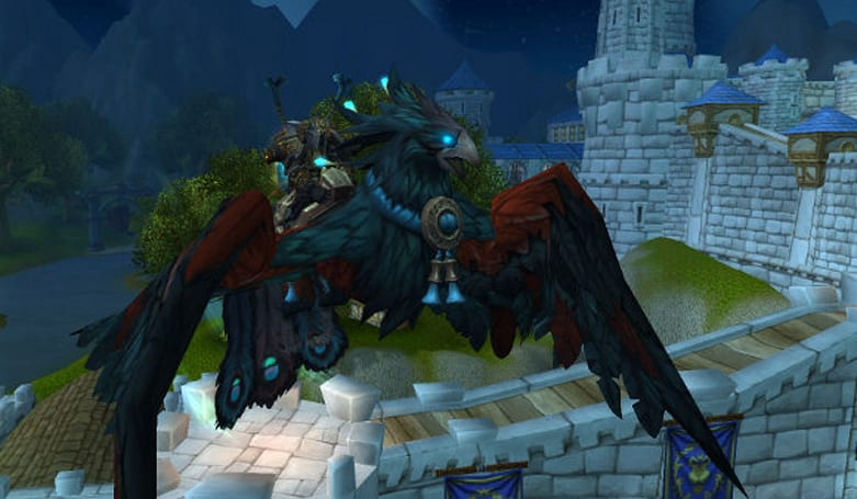 Mists of Pandaria mount preview mounts up on official site