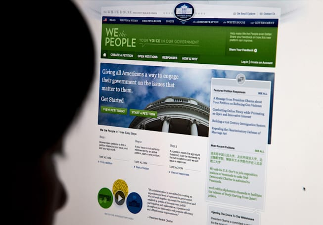 White House speeds up (and opens up) online petitions