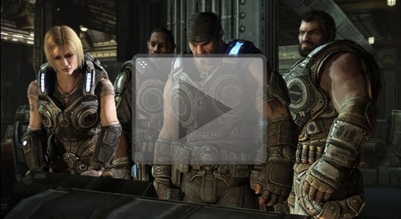 Gears of War 3 campaign trailer is a great soccer moment