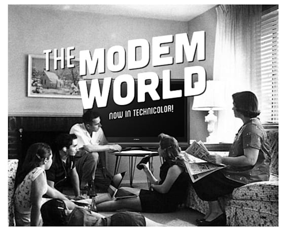 This is the Modem World: Please don't personalize me. I know who I am