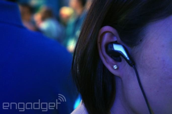 A closer look at Intel's smart earbuds, which match songs to your heart rate