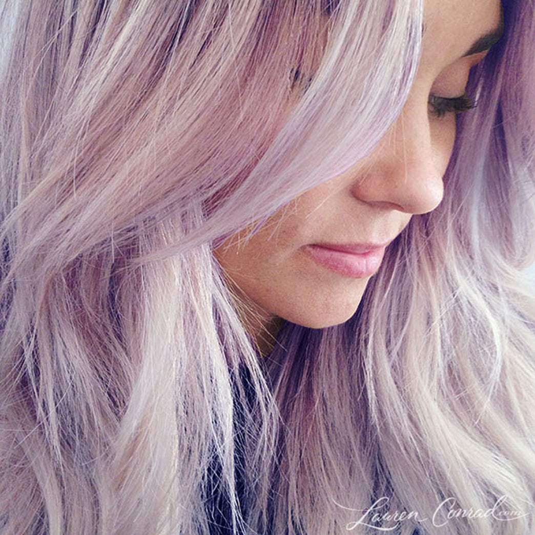 Top 9 at 9: Lauren Conrad dyes hair purple, the best fashion April Fool's jokes, and more