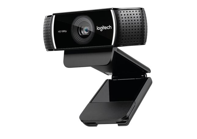 罗技的 C922 Pro Stream 网络摄影机主打游戏直播市场