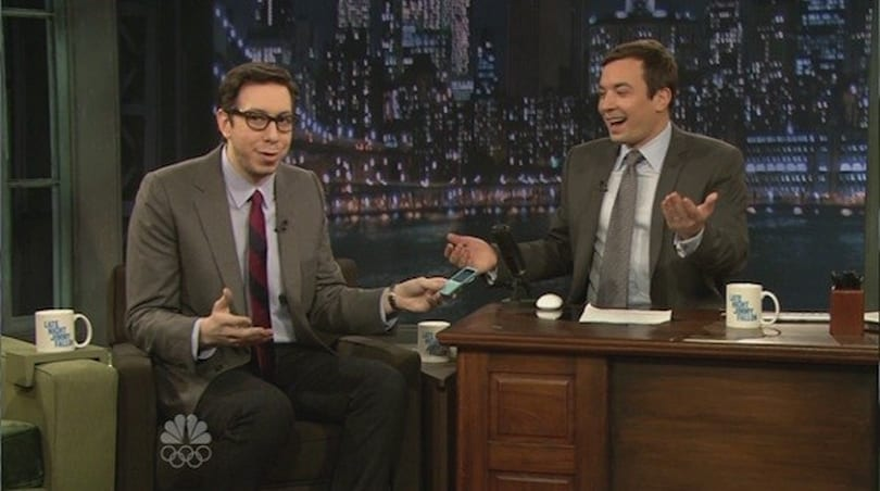 Josh reveals TwitterPeek on Late Night with Jimmy Fallon, Qlorigan** (video)