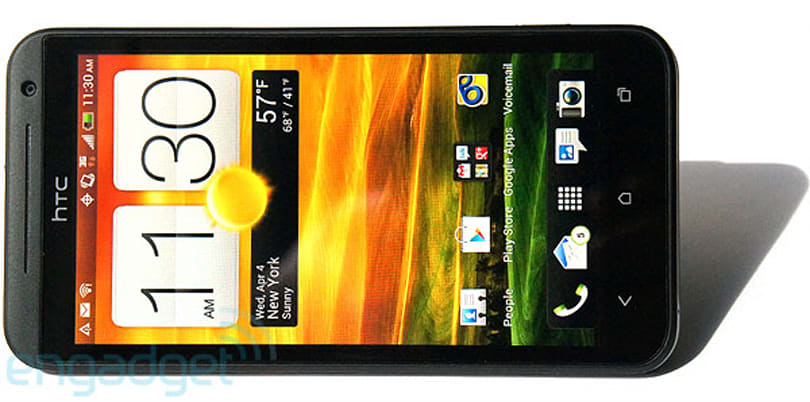 Sprint HTC EVO 4G LTE preview (video)