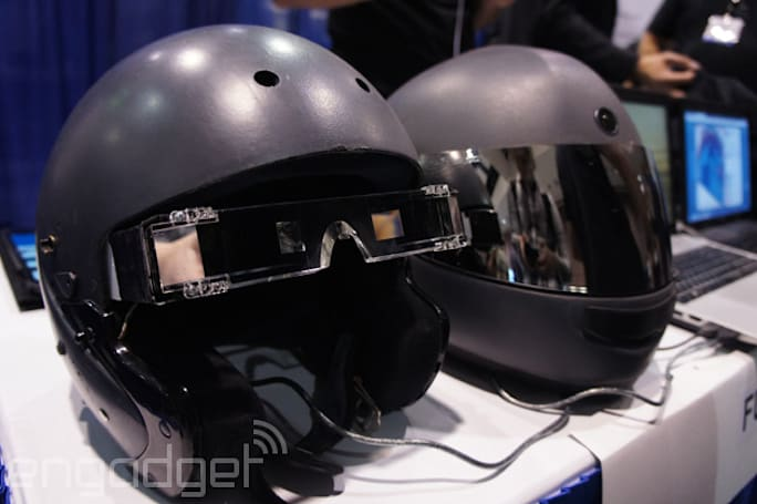 This augmented reality motorcycle helmet could save your life