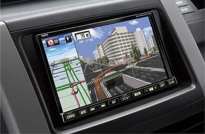 Sanyo crams SSDs into new duo of in-car navigation systems