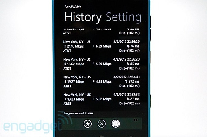 Some Nokia Lumia 900 handsets having trouble connecting to data networks