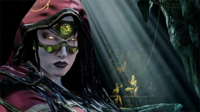 Take a closer look at Killer Instinct's spider lady, Sadira