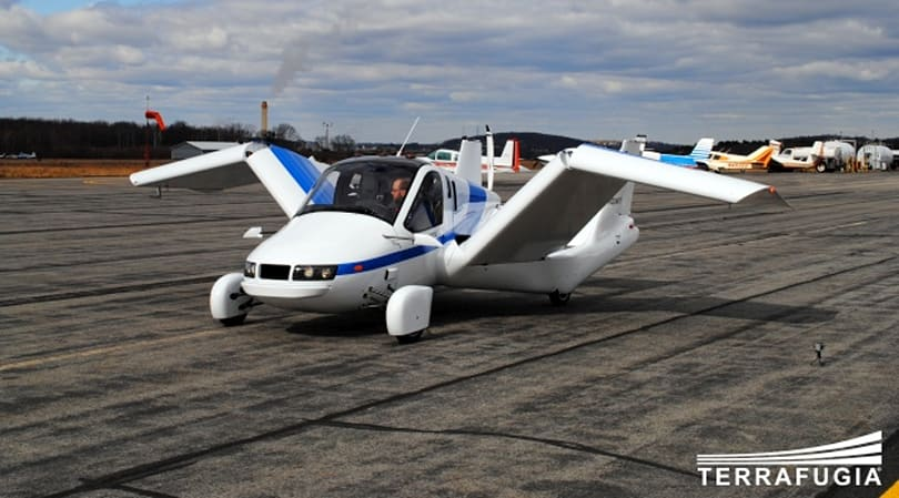 Terrafugia's flying car project is still a couple of years away