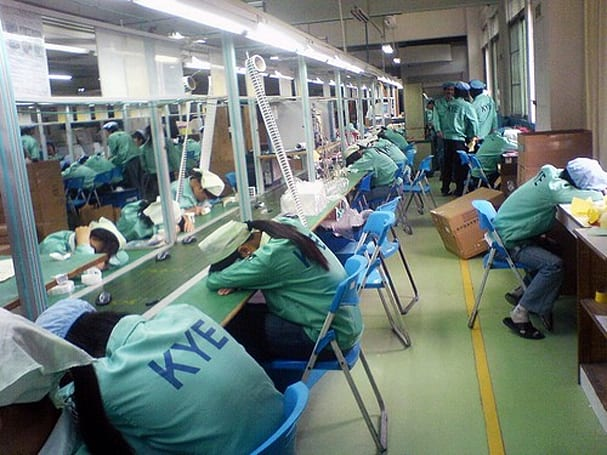 National Labor Committee report on Chinese CE factories uncovers deplorable conditions