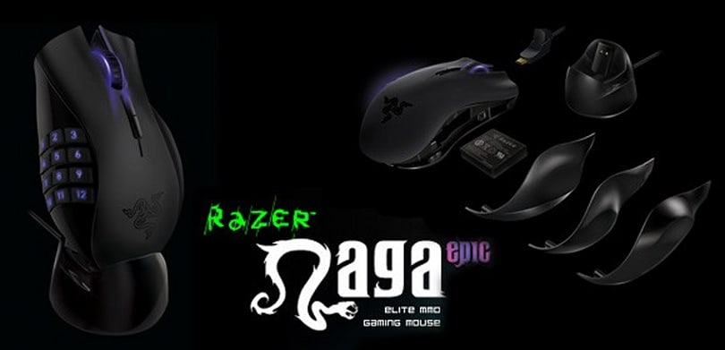 Razer unleashes epic version of the Naga gaming mouse