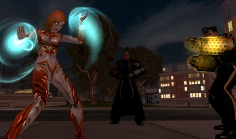 City of Heroes shows off the upcoming Kinetic Melee set