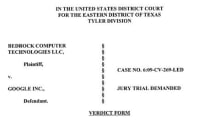 Google ordered to pay $5 million in Linux patent infringement suit (updated)