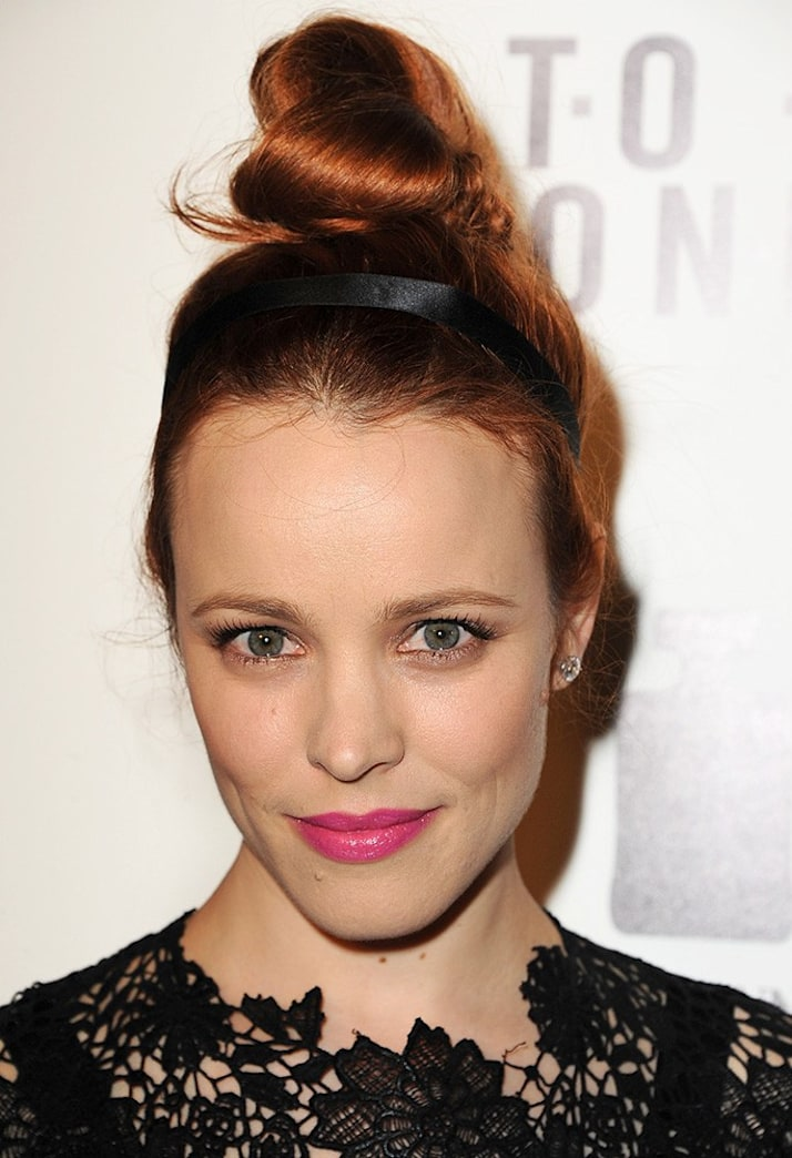 Look of the Week: Rachel McAdams's Coachella-Ready Top Knot