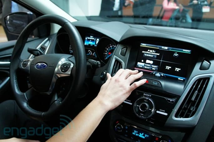 MyFord Touch 2013 update hands-on