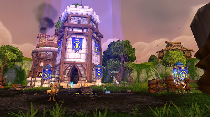 Warlords of Draenor: Call to Arms removed