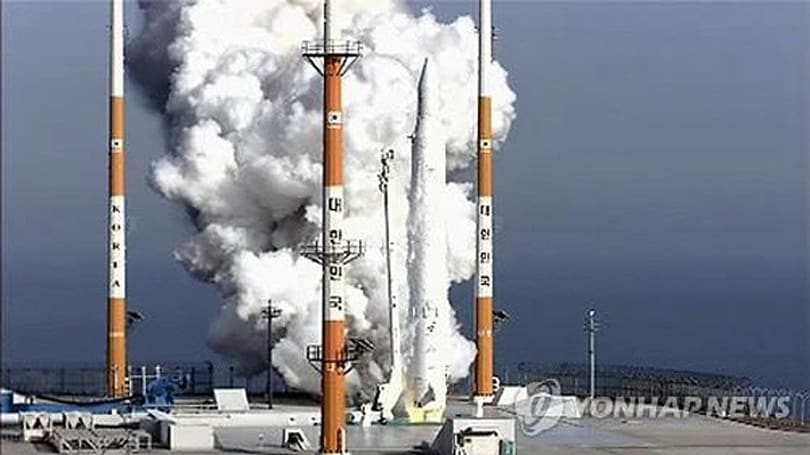 South Korea successfully launches native rocket and satellite into space