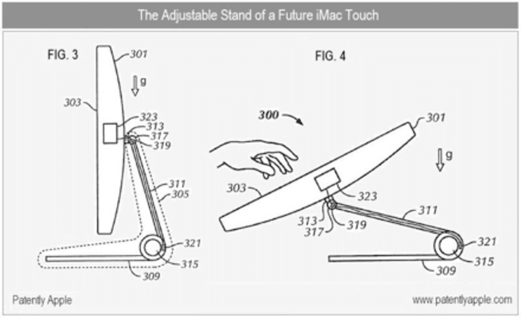 Patents hint at iMac Touch and touchscreen MacBooks