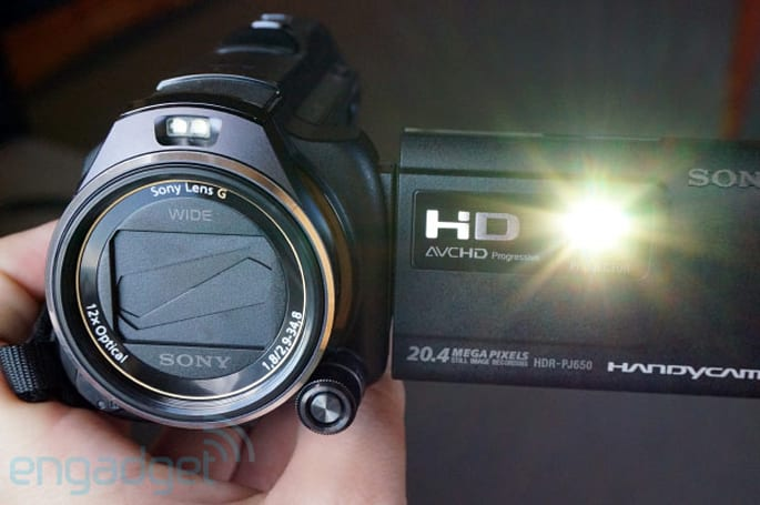 Sony Handycam PJ790V and PJ650V get brighter projectors with HDMI input, we go hands-on
