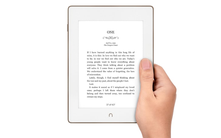 Barnes & Noble unveils a waterproof Nook e-reader