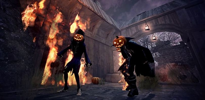 Vindictus invaded by pumpkin-headed vampires and skimpier costumes
