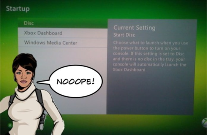 Xbox 360 'start disc' boot-up setting to be fixed in future update
