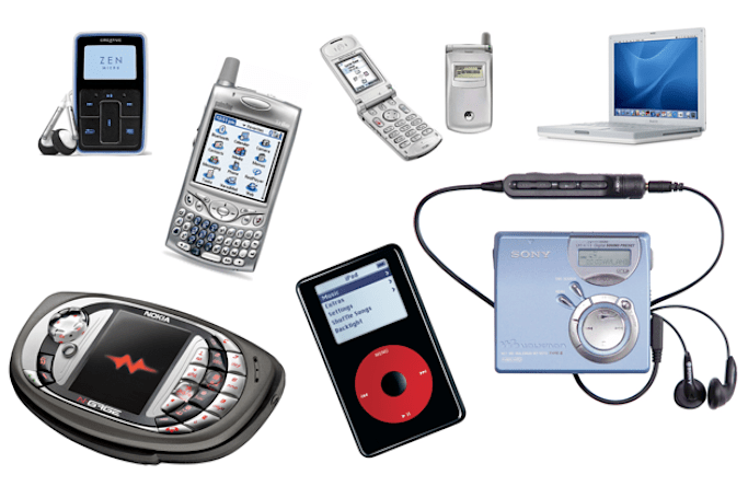 What gadgets were you rocking 10 years ago?