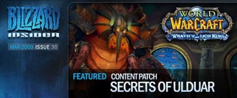 Blizzard Insider Issue 30 released today