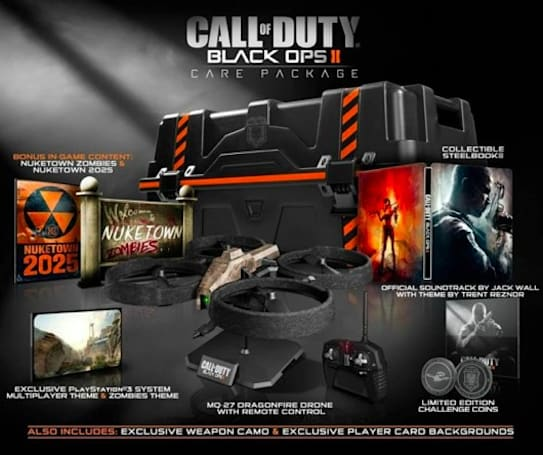 Black Ops 2 shipping in 'Hardened' and 'Care Package' editions [update: trailer!]