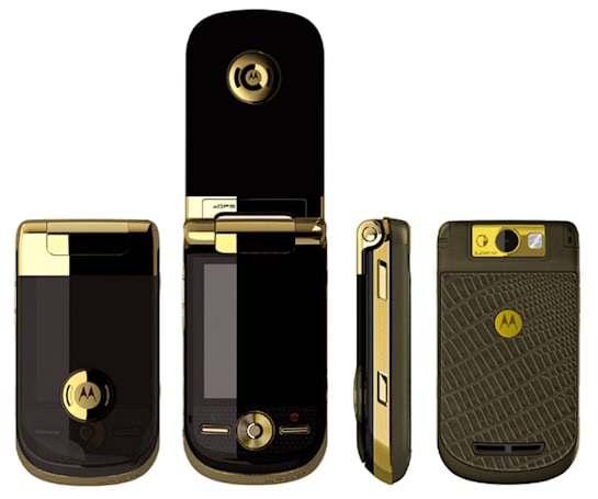 Cartier-adorned Motorola A1600 makes no apologies