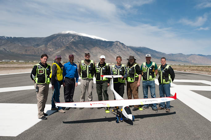 Cloud-seeding drone makes first flight over Nevada