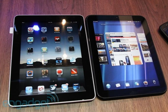 iPad vs. TouchPad... Fight!