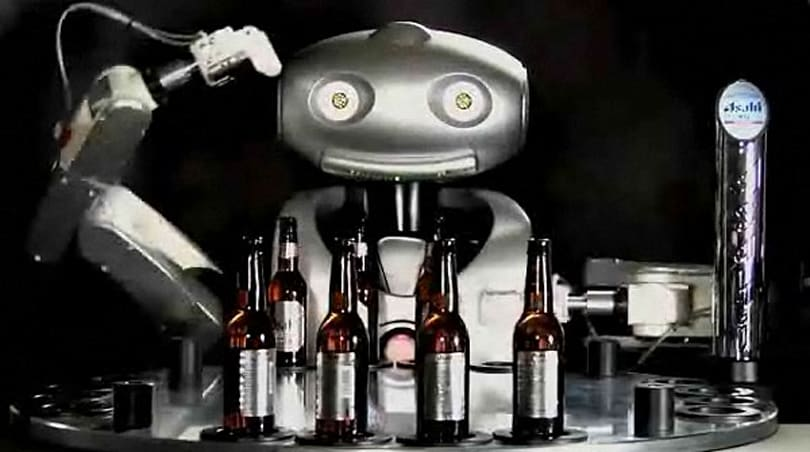 Mr. Asahi robot bartender makes its public debut