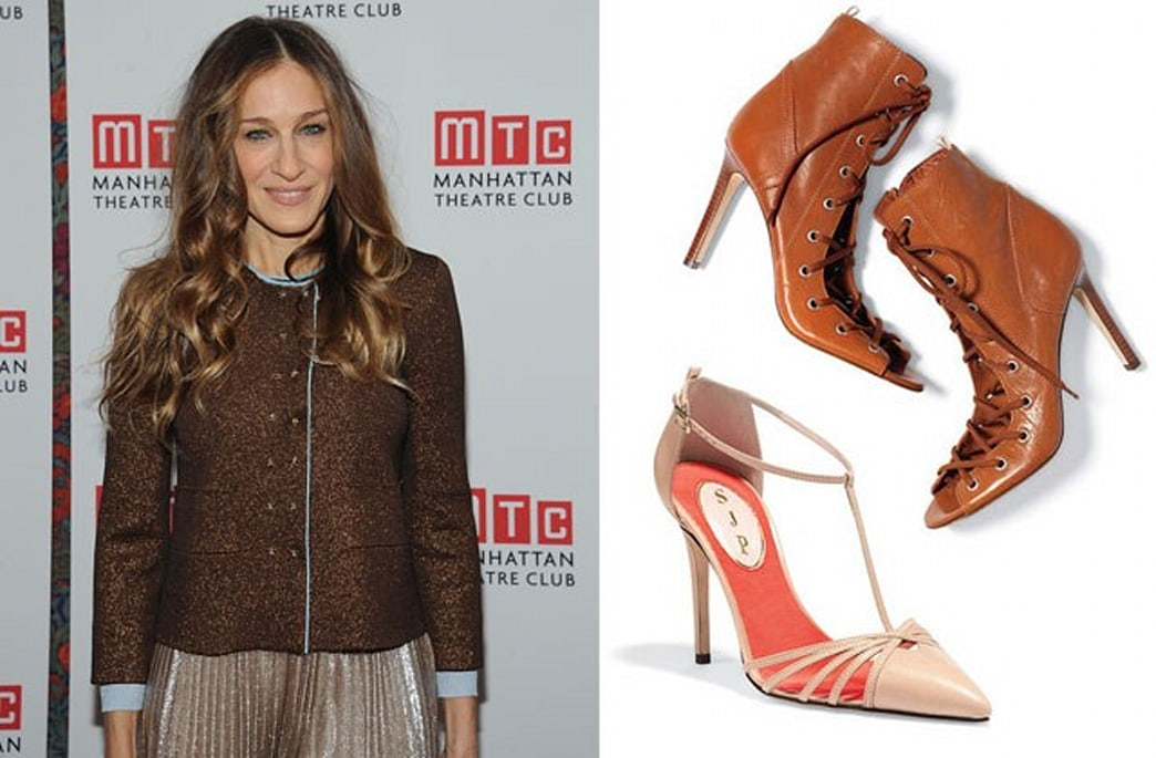 More photos of Sarah Jessica Parker's shoe collection are here (including 'The Carrie')