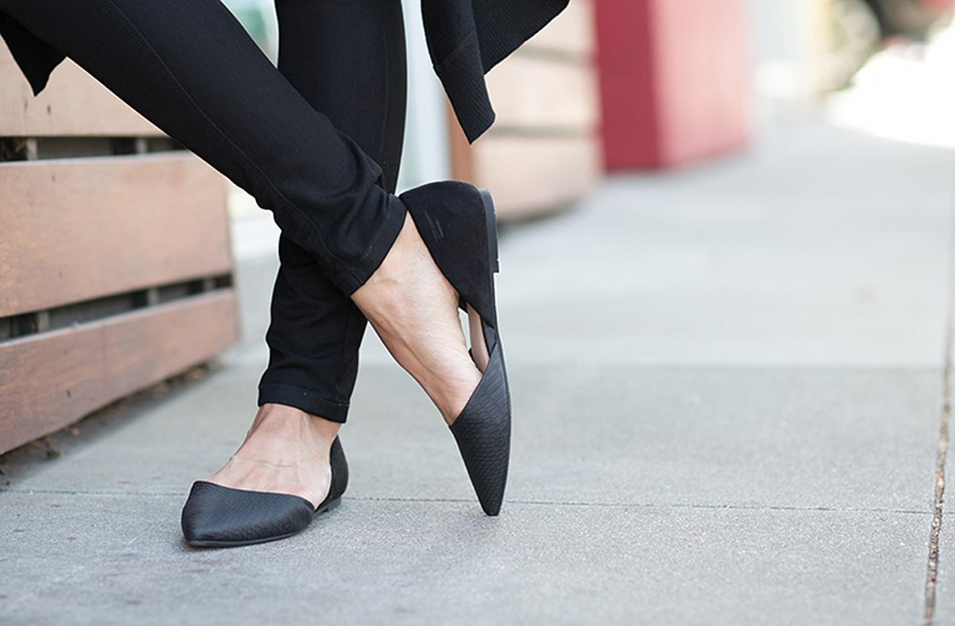Comfy flats have never been so chic