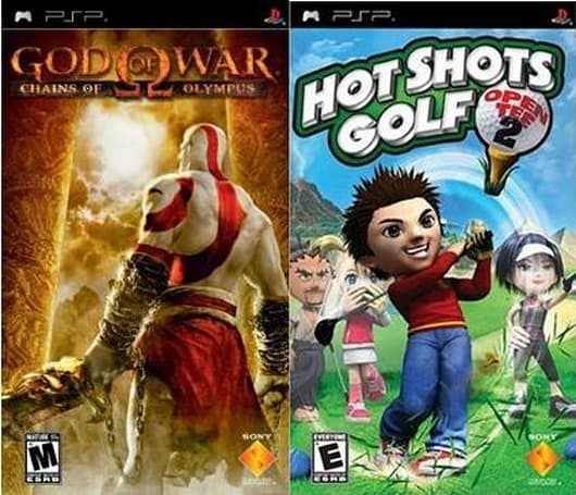 Deals: PSP Brite pack with free God of War, Hot Shots Golf $13