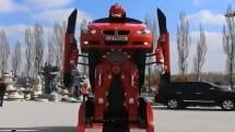 変形と走行が可能なリアルトランスフォーマー『Letrons』。BMW 3をベースにトルコの会社が開発