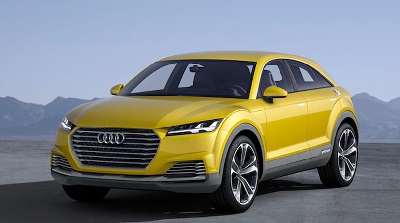 Audi's latest hybrid concept car takes the TT family offroad, with 408HP under the hood