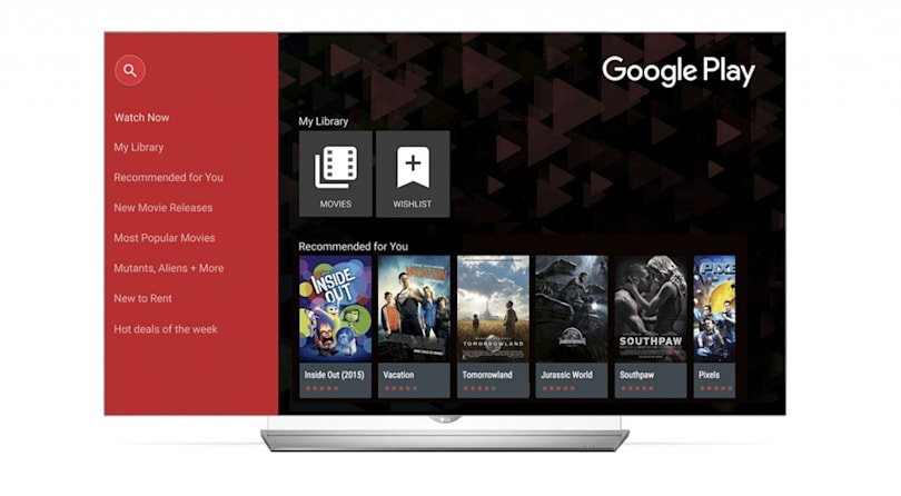 LG's smart TVs will stream Google Play movies this month