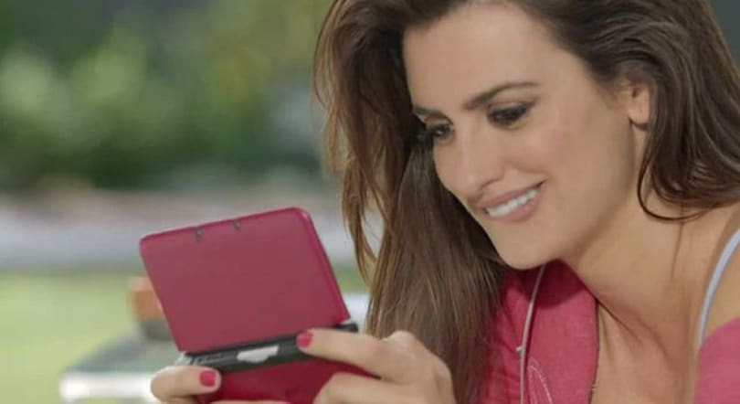 Penélope Cruz stars as Mario in Nintendo commercial