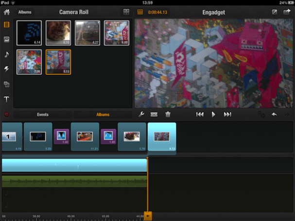Avid Studio rolls onto iPad, treads on iMovie's toes (video)